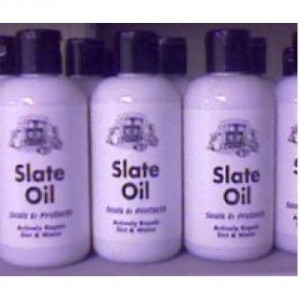 slate oil