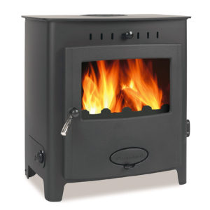The Aarrow Stratford EB16 HE Multifuel / Woodburning Boiler Stove