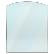 Curved Glass Hearth
