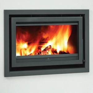 Mendip Christon 900 Inset Flatline Wood Burning Stove