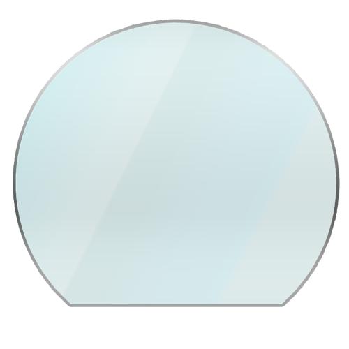 Circular Glass Hearth