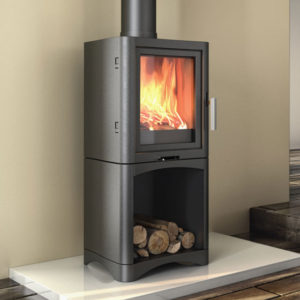 Broseley Evolution 5 Log Store Wood Burning Stove