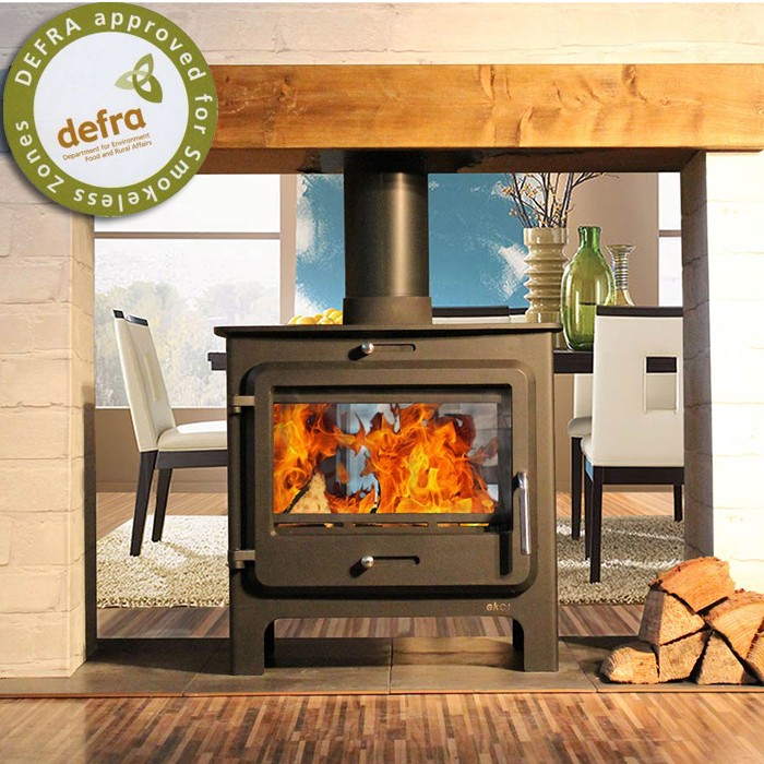 Ekol Clarity Double Sided Multifuel Stove