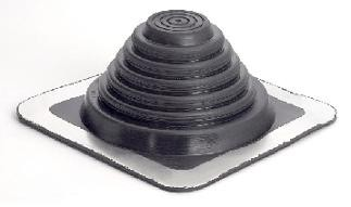 """Masterflash Roof Flashing for 6"""" (150mm) Twinwall Insulated Flue Pipe"""