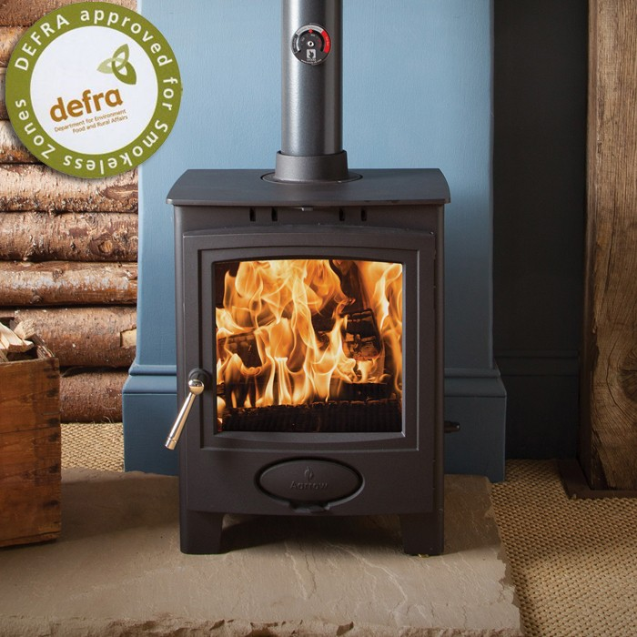 Aarrow Ecoburn Plus 5 DEFRA Wood Burning Stove