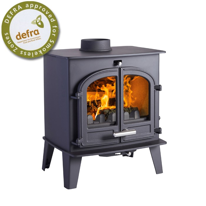 Cleanburn Noreskoven MK2 Traditional Multifuel Stove