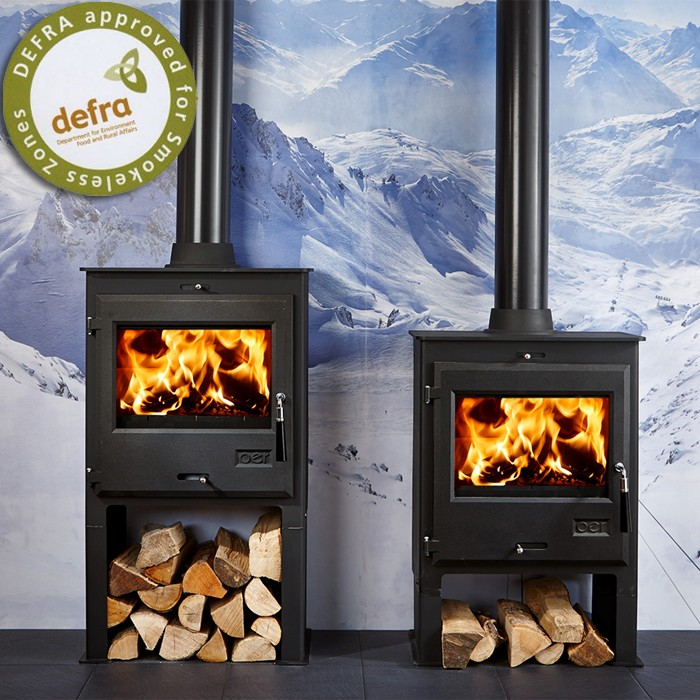 OER 7 Log Store Multifuel Stove