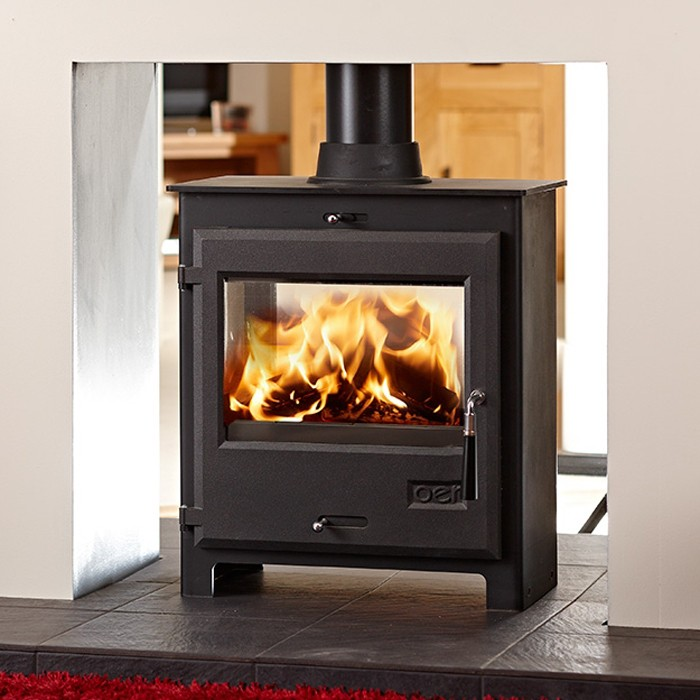 OER Double Sided Multifuel Stove