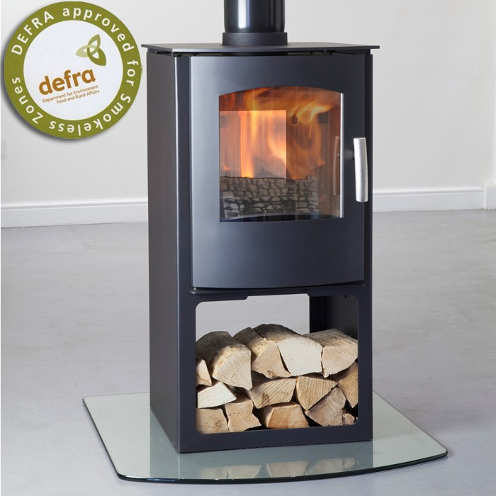 Mendip Churchill 8 Log Store Double Sided Multifuel Stove